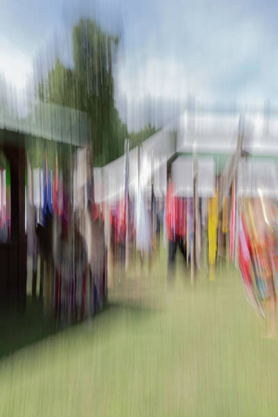 Photograph - Abstract Of The Pow Wow 2019 by Thomas Young