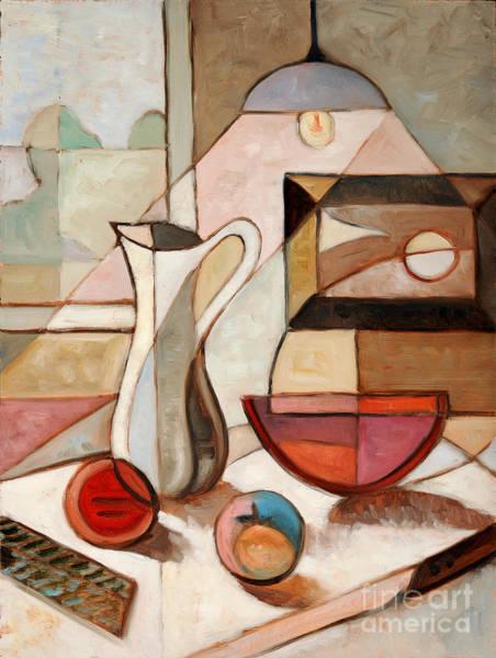 Wall Art - Photograph - Abstract Oil Painting Of Still Life by Gino Santa Maria