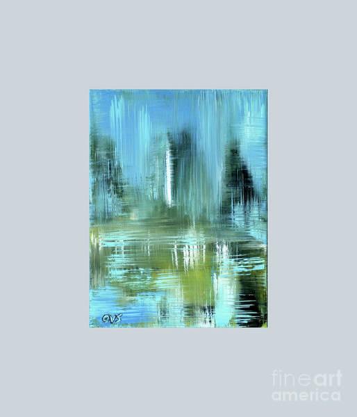 Painting - Abstract,  Painting 9 by Oksana Semenchenko