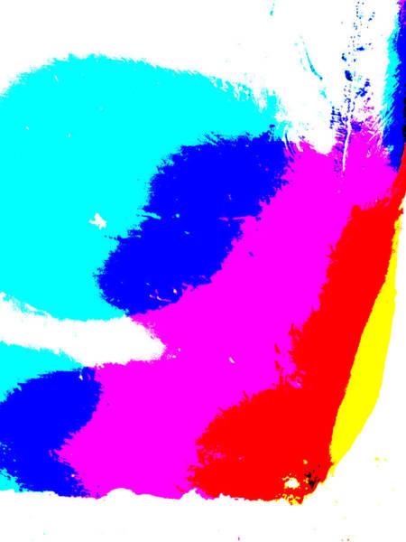 Digital Art - Abstract Rainbow Light 3b by Artist Dot