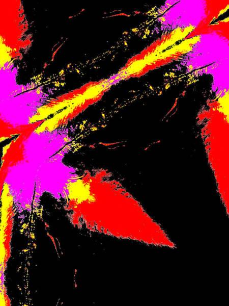 Digital Art - Abstract Rainbow Light 3c by Artist Dot