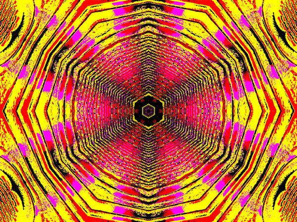 Digital Art - Abstract Rainbow Light 4a by Artist Dot