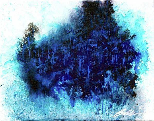 Painting - Abstract 201001 by Rick Baldwin