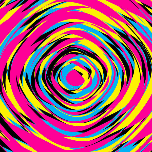 Wall Art - Painting - Abstract Rose Pop Art 21 by Black Gryphon