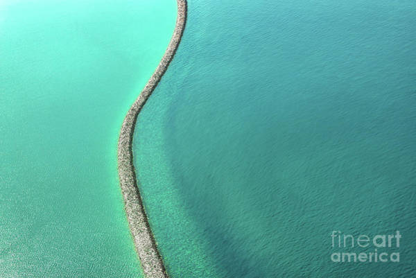 Wall Art - Photograph - Abstract Seascape by Delphimages Photo Creations