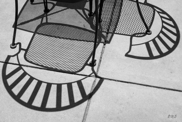 Photograph - Abstract Shadows Iv Bw by David Gordon