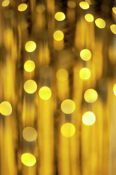 Celebration Photograph - Abstract Spots Of Light, Bokeh by Brian Stablyk