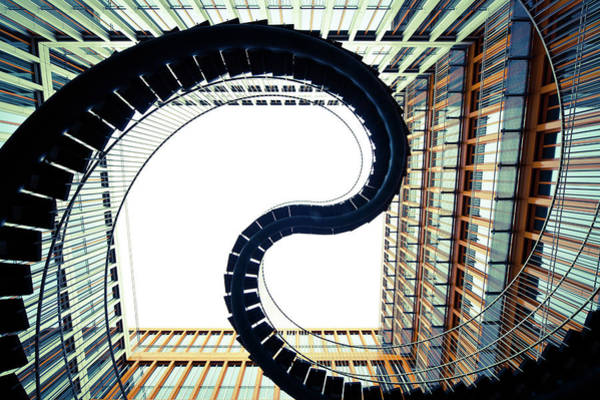 Photograph - Abstract Stairs by Lappes
