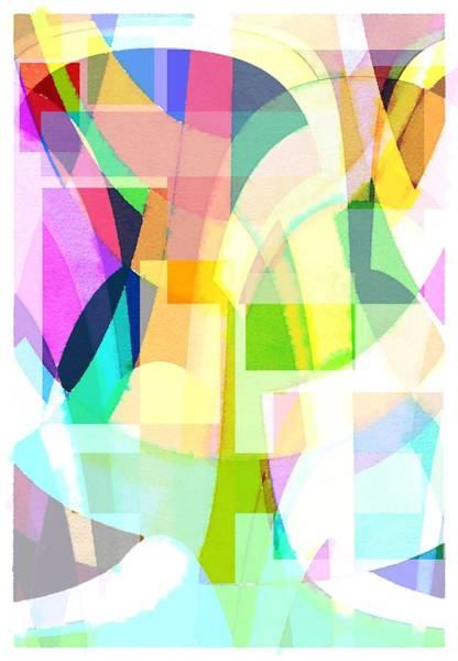 Wall Art - Digital Art - Abstract by Steve K