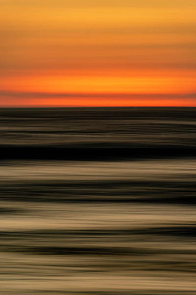 Big Pine Wall Art - Photograph - Abstract Sunset by Christopher Johnson