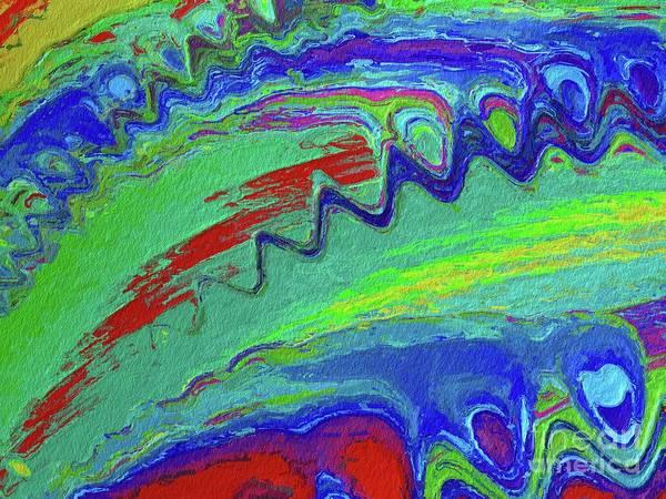 Fractal Painting - Abstract Wall Art, No. 15 by Tito