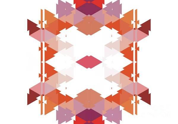 Kaleidoscope Digital Art - Abstract Wall Art, No. 3 by Tito
