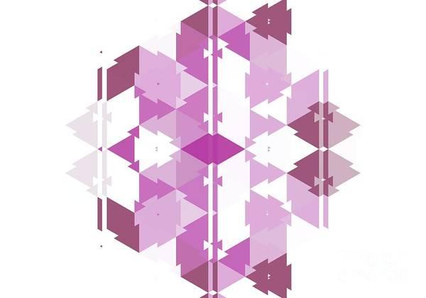 Kaleidoscope Digital Art - Abstract Wall Art, No. 6 by Tito