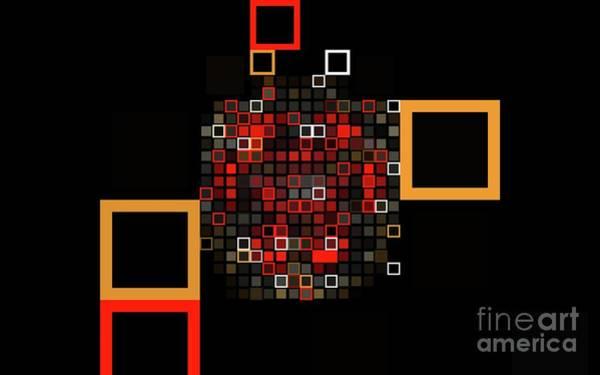 Kaleidoscope Digital Art - Abstract Wall Art, No. 8 by Tito