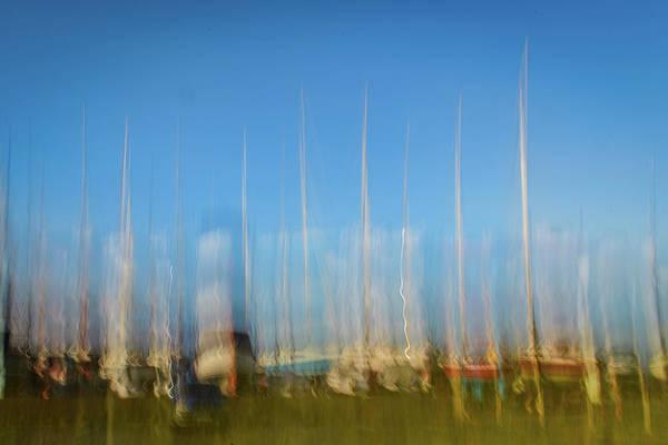 Wall Art - Photograph - Abstract Yachts by David Ridley