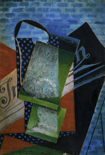 Wall Art - Painting - Abstraction, 1915 by Juan Gris