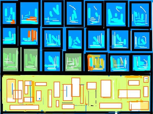 Wall Art - Digital Art - Abstraction-3 by Anand Swaroop Manchiraju
