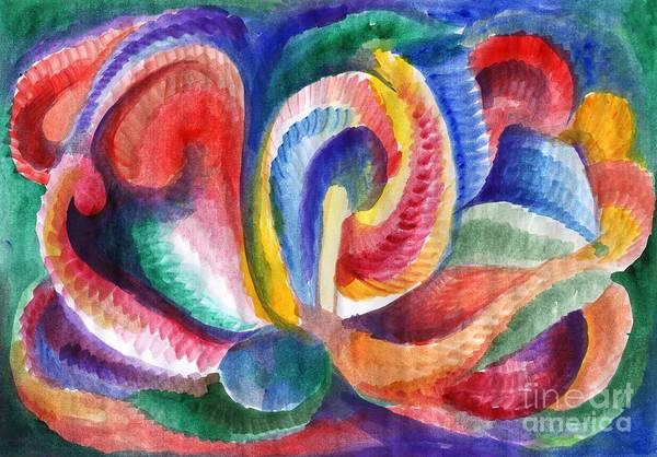 Painting - Abstraction Bloom by Irina Dobrotsvet