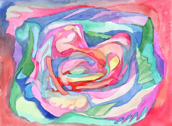 Painting - Abstraction In Gentle Morning Tones by Irina Dobrotsvet