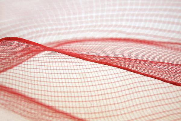 Crisscross Wall Art - Photograph - Abstraction In Plastic Net by Magaiza