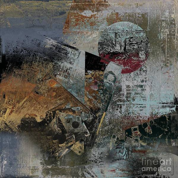 Wall Art - Digital Art - Abstractriel - 01 by Variance Collections