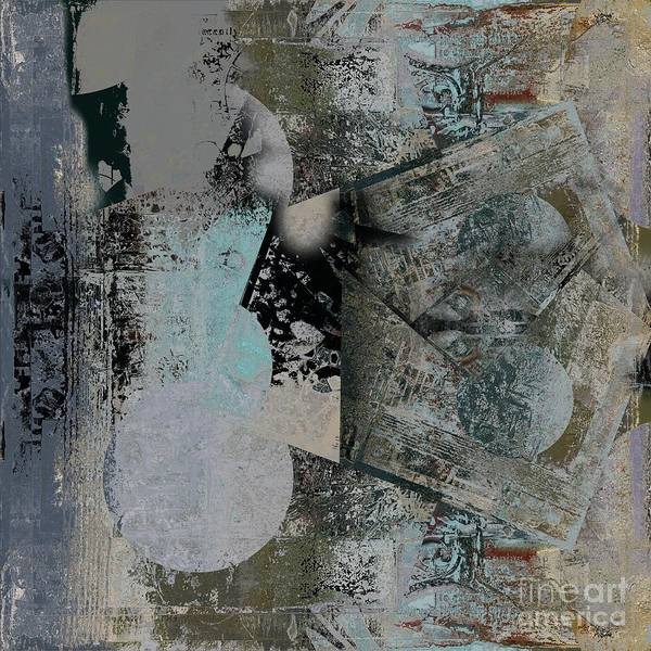 Wall Art - Digital Art - Abstractriel - 03a by Variance Collections