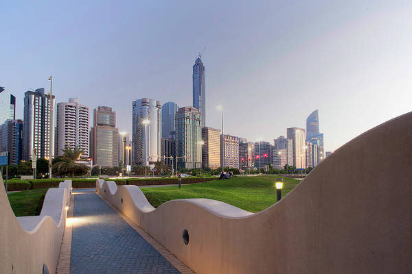 Fortified Wall Art - Photograph - Abu Dhabi, United Arab Emirates, Middle by Angelo Cavalli / Robertharding