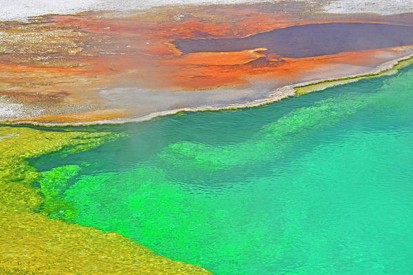Photograph - Abyss Pool In Yellowstone National Park 02 by Bruce Gourley