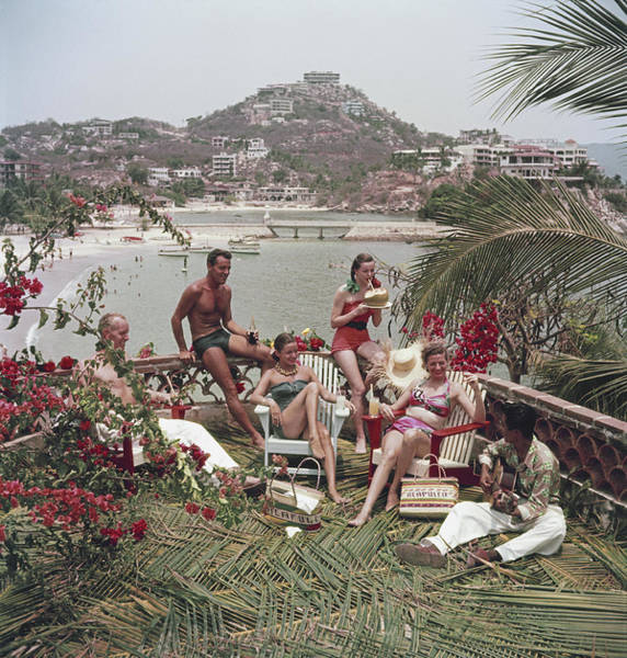 Acapulco Photograph - Acapulco Afternoon by Slim Aarons