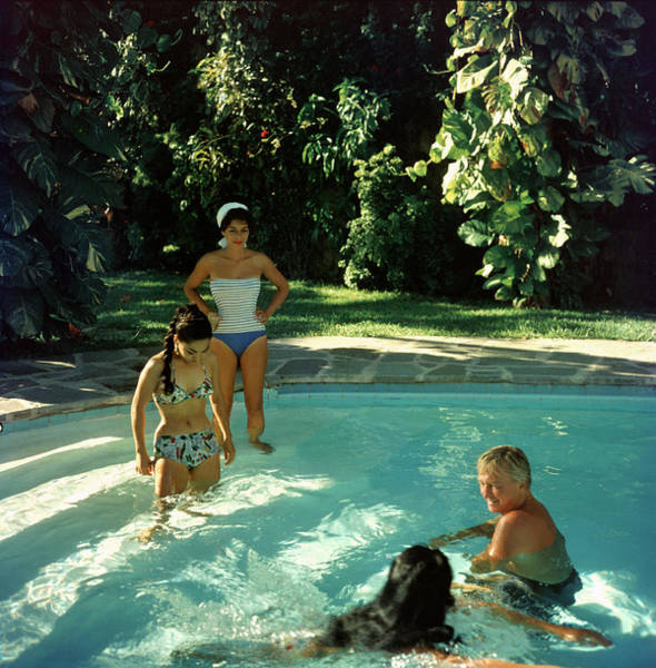 Acapulco Photograph - Acapulco Pool by Slim Aarons