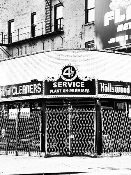 Wall Art - Photograph - Access Hollywood Hollywood Cleaners by William Dey