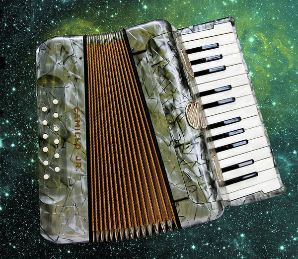 Photograph - Accordion Universe by Peggy Collins