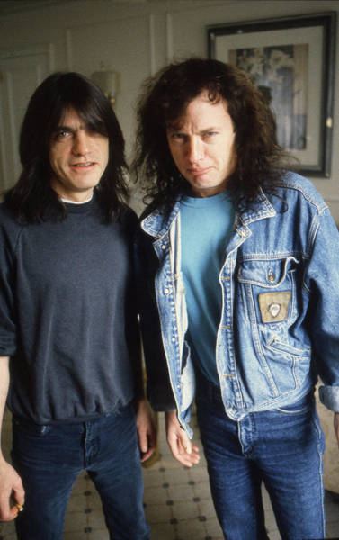 Photograph - Acdc Angus And Malcolm by Martyn Goodacre