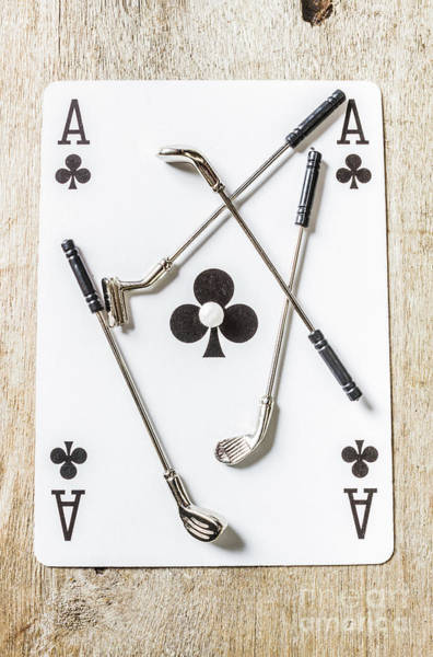 Wall Art - Photograph - Ace Of Clubs by Jorgo Photography - Wall Art Gallery
