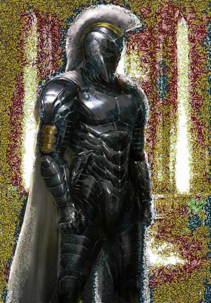Digital Art - Achilles In Full Body Armor by Mario Carini