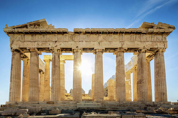 Wall Art - Photograph - Acropolis Parthenon Temple,athens,greece by Mlenny