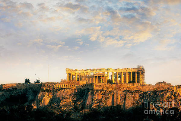 Photograph - Acropolis Ruins by Scott Kemper