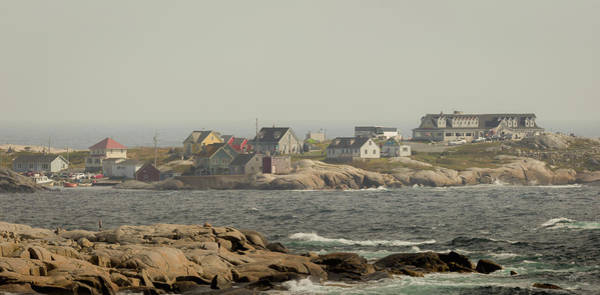 Peggys Cove Photograph - Across The Bay by Everet Regal