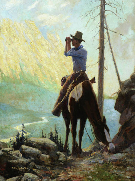 Wall Art - Painting - Across The Canyon, 1930 by William Harnden Foster
