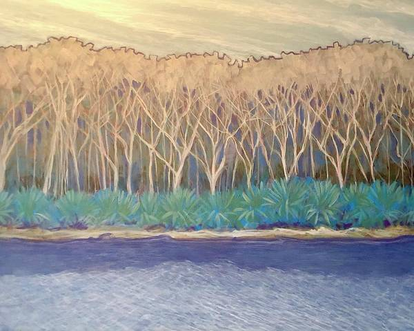 Painting - Across The Creek by Jeanette Jarmon