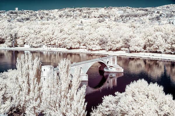 Photograph - Across The Rhone River In Avignon by John Rizzuto