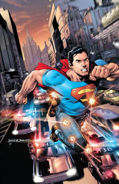 Action Comics Superman Art Print