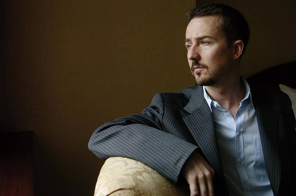 Wall Art - Photograph - Actor Edward Norton, 36, At The Regency by New York Daily News Archive