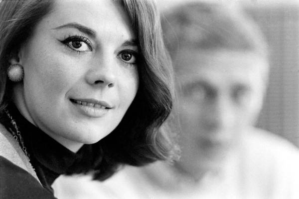 Steve Mcqueen Photograph - Actors Steve Mcqueen And Natalie Wood by John Dominis