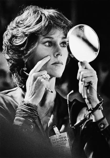 Photograph - Actress Jane Fonda Stars In by George Rose