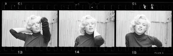 Marilyn Monroe Photograph - Actress Marilyn Monroe by Alfred Eisenstaedt
