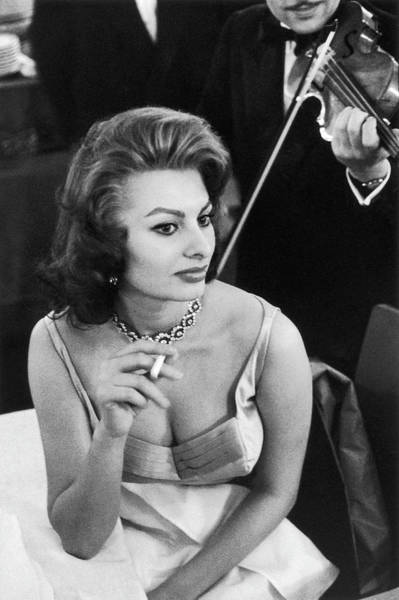 Photograph - Actress Sophia Loren In The 1950s - by Dominique Berretty