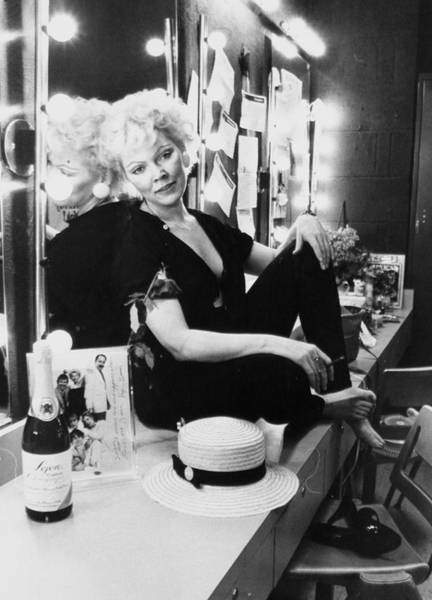 Content Photograph - Actress Susan Tyrrell Relaxes In Her by New York Daily News Archive