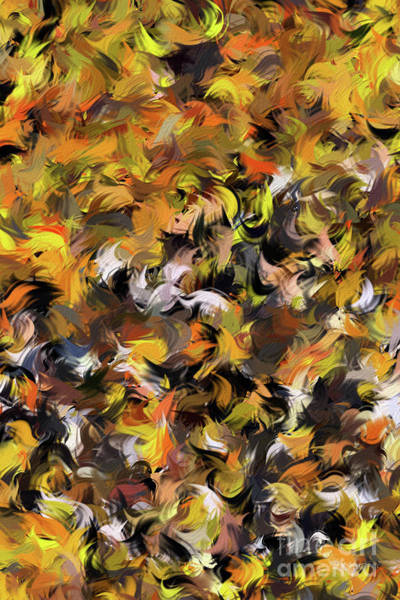 Painting -  Acts 2 3. Tongues Of Fire by Mark Lawrence