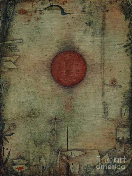 Wall Art - Painting - Ad Marginem, On The Edge, 1930 by Paul Klee